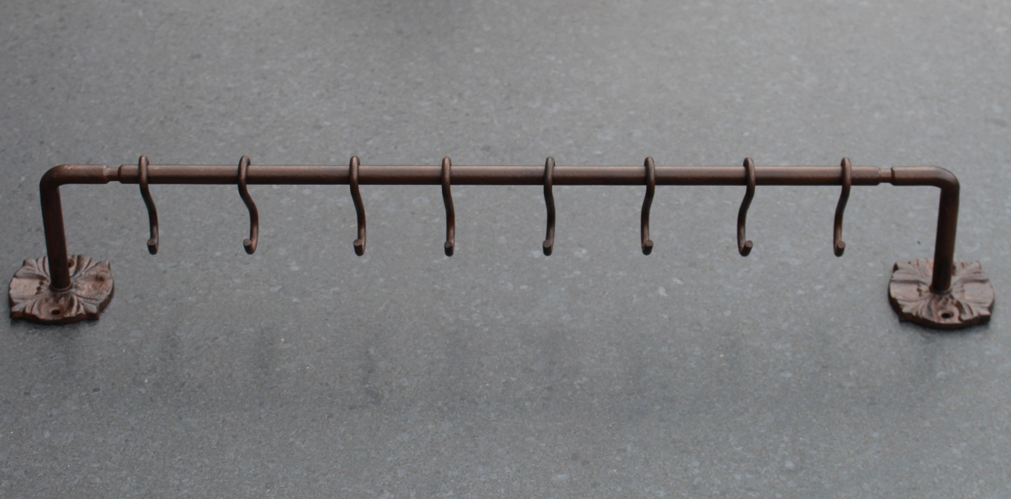 Kapstokophangrek Met 8 Verwijderbare Haakjes Robanjer Kapstokhaken