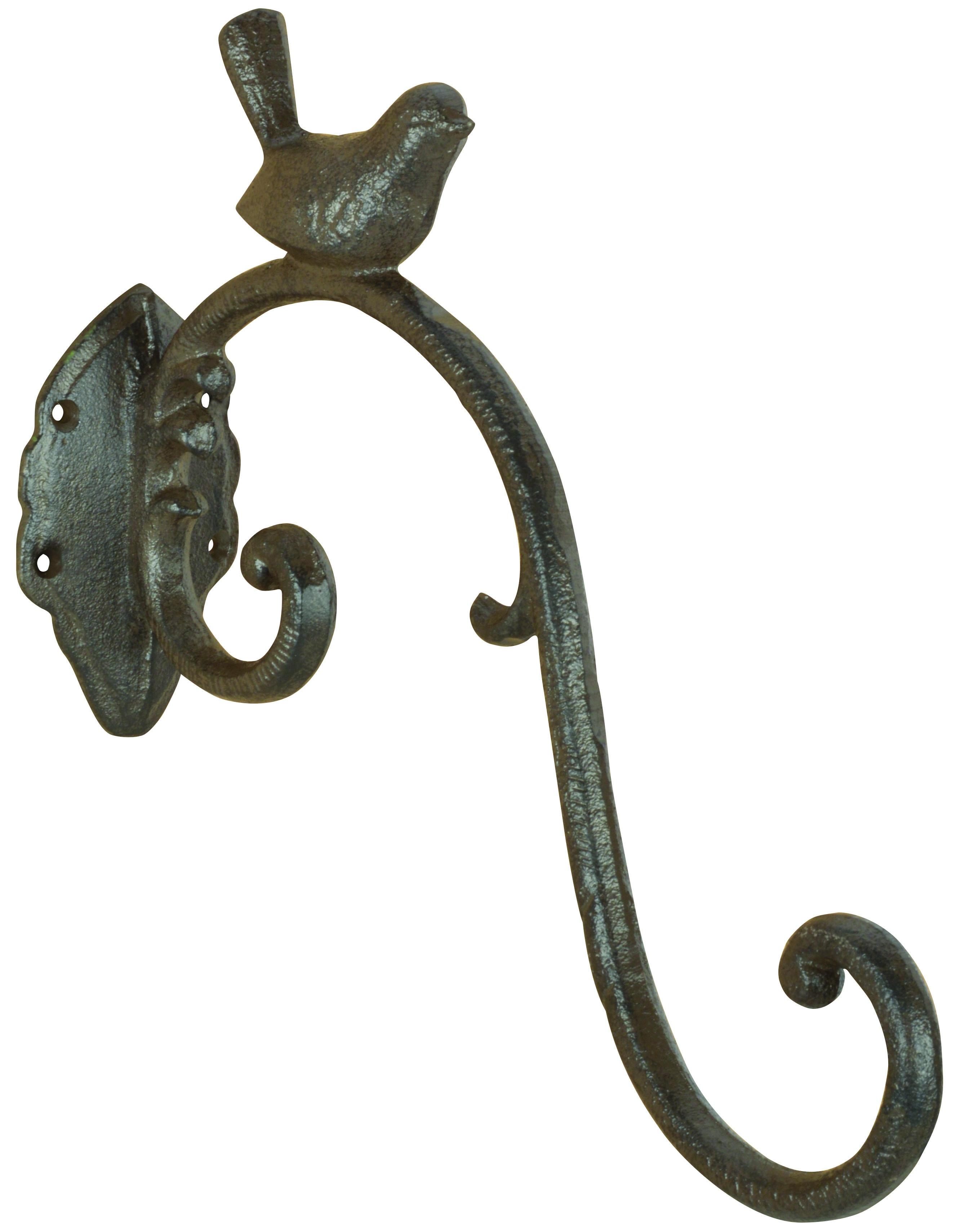 Wandhaak Vogel Middel 27cm Robanjer Kapstokhaken